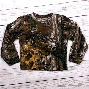 4T Camo Long Sleeve Shirt